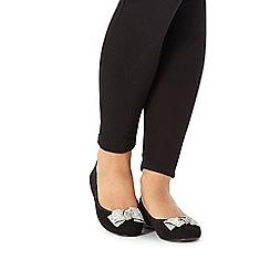 Faith - Black 'Ackley' slip-on shoes