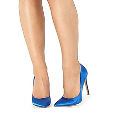 Faith - Blue 'Felicia' high court shoes