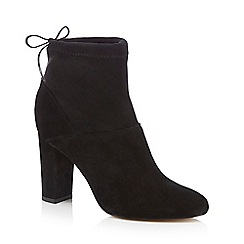 Faith - Black 'Bump' high ankle boots