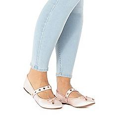 Faith - Pink 'Amira' slip-on shoes