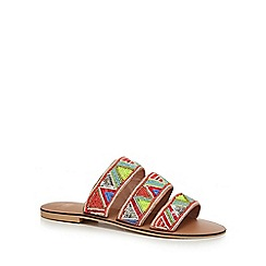 Faith - Multi-coloured 'Fabia' flip flops