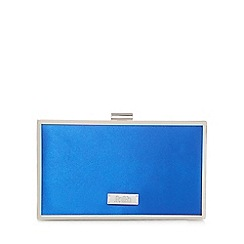 Faith - Bright blue 'Fergie' clutch bag