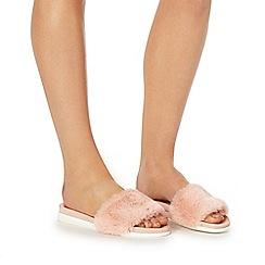Faith - Pink 'Jeffery' sandals