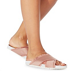 Faith - Pink 'Jaffa' flip flops