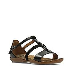 Clarks - Black combi autumn fresh women's sandals