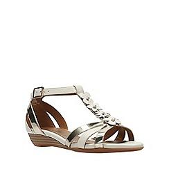 Clarks - White combi bianca shade women's sandals