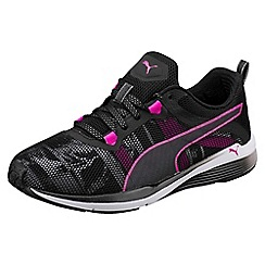 Puma - Black and pink Pulse Ignite XT Swan Wn trainers