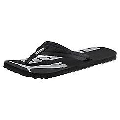 Puma - Black 'Epic Flip v2' flip flops