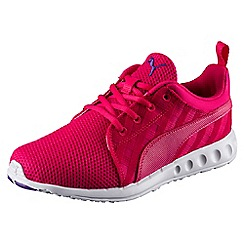 Puma - Bright pink 'Carson Cross Hatch Wn' trainers
