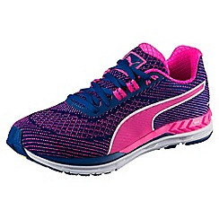 Puma - Pink and blue 'Speed 600 S Ignite Wn' trainers