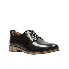 Clarks - Black leather 'Zyris Toledo' brogues