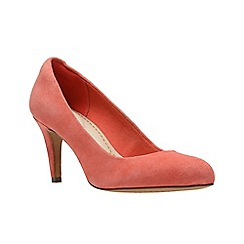 Clarks - Coral Suede' CARLITA COVE' Court Shoes