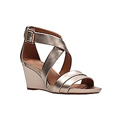 Clarks - Gold Metallic'  ACINA NEWPORT'  Sandals