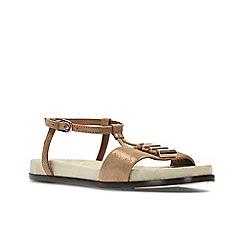 Clarks - Bronze Metallic' AGEAN COOL' Sandals