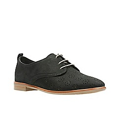 Clarks - Black Nubuck'  ALANIA POSEY'  Shoes