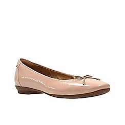 Clarks - Dusty pink ' candra light ' ballerina