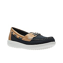 Clarks - Navy'  JOCOLIN VISTA'  Boat Shoe