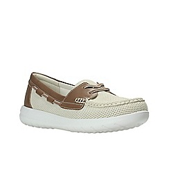 Clarks - Off White'  JOCOLIN VISTA'  Boat Shoe