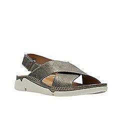 Clarks - Metallic Leather'  TRI ALEXIA'  Sandals