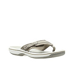 Clarks - Sand Synthetic'  BRINKLEY QUADE'  Sandals