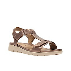 Clarks - Bronze Metallic'  UN HAYWOOD'  Sandals