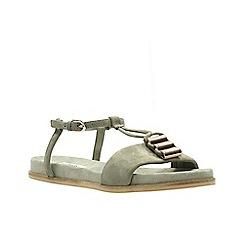 Clarks - Sage Suede' AGEAN COOL' Sandals