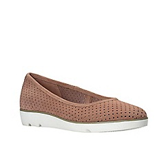 Clarks - Pink suede'  evie buzz'  shoes