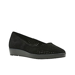 Clarks - Black sde'  evie buzz'  shoes