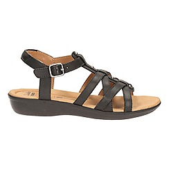 Clarks - Bronze leather ' manilla bonita ' sandals