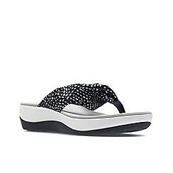 Clarks - Blue 'arla glison' sandals