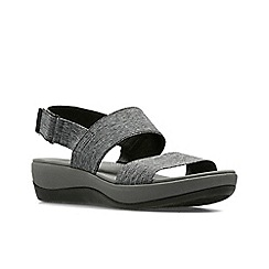 Clarks - Blk/White' ARLA JACORY' Sandals