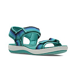 Clarks - Blue ' brizo ravena ' sandals