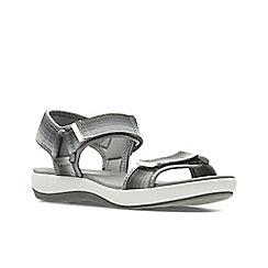 Clarks - Grey ' brizo ravena ' sandals