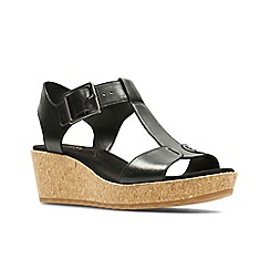 Clarks - Black 'Kamara Kiki' women's sandals