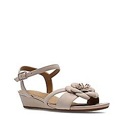 Clarks - Dusty pink nubuck parram stella women's sandals