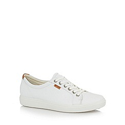 ECCO - White soft 7 shoes