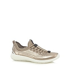 ECCO - Gold 'Soft 5' sports trainers