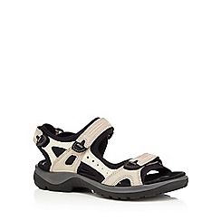 Ecco - White Offroad Flat sandals