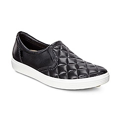 ECCO - Black soft 7 slip-on