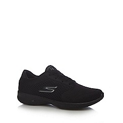 Skechers - Black 'GOwalk 4 - Exceed' trainers