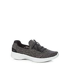 Skechers - Black 'Go Walk' trainers