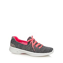 Skechers - Grey 'Go Walk 4' trainers
