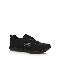 Skechers - Black 'Microburst' trainers
