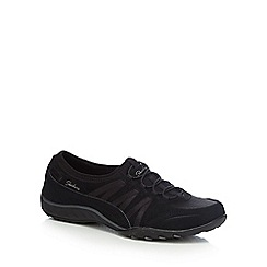 Skechers - Black 'Breathe Easy Moneybags' trainers