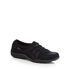 Skechers - Black 'Breathe Easy Moneybags' trainers
