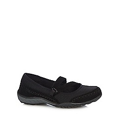 Skechers - Black 'SKX - Breath Easy Love Story' shoes