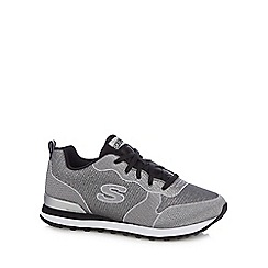 Skechers - Silver 'Retro' trainers