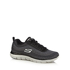 Skechers - Black 'Flex Appeal' trainers