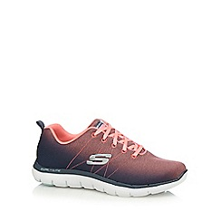 Skechers - Pink 'Flex Appeal' trainers
