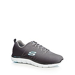 Skechers - Grey 'Flex Appeal' trainers